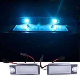 $enCountryForm.capitalKeyWord NZ - 2 X License Plate Light LED 12V Car Styling Lamp for Volvo V70 XC70 S60 S80 XC90