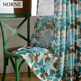 $enCountryForm.capitalKeyWord NZ - NORNE Floral Pattern Semi Sheer Curtains NORNE Floral Pattern Semi Sheer Voile tulle Curtains Window Treatments Blinds Curtain D