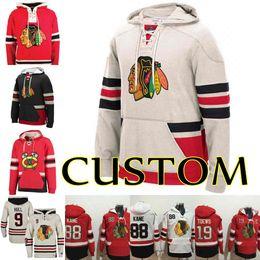 f7790f9af Chicago Blackhawks Hoodies Sweatshirts 2 Duncan Keith 19 Jonathan Toews 88  Patrick Kane 72 Artemi Panarin Custom Stiched Hockey Jerseys
