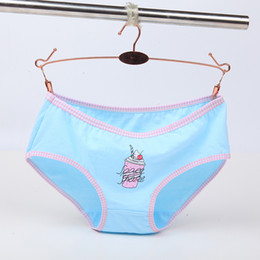 cartoon print panties NZ - Women's Print Cartoon Panties for Laidies Women Underwear Soft Women Lingerie Comfortable Briefs 2018 New Design Wholesale