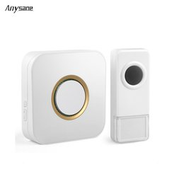 wireless doorbell wholesale 2019 - Newest wireless door bell doorbell ring 300m remote control doorbell switch 433.92mhz EV1527 learning code home door bel