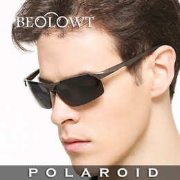 Sunglasses Shops NZ - BEOLOWT Brand Polaroid Sunglasses Men Polarized Driving Alloy Sun Glasses Free Shopping Sun Glasses for Men BL104