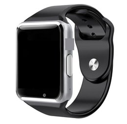 Bluetooth Smart Watch Sim Australia - A1 Bluetooth Smart Watch SmartWatch Smart Watches Support SIM and TF Card For Smart Android phones MQ200