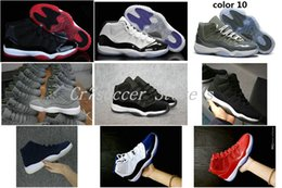$enCountryForm.capitalKeyWord Canada - 2018 Newest release the black cat 11 basketball shoes 72-10 men Athletic sneakers cool grey suede women sports shoe bred concord space jam