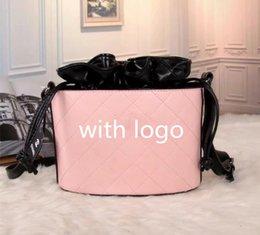 purse tassel strings 2019 - NEONOE shoulder bags Noé leather bucket bag women famous brands designer handbags high quality flower printing crossbody