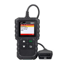 Chinese  New Arrival LAUNCH Creader 3001 Full OBDII EOBD Code Reader Scanner CR3001 Diagnostic Tool Multi-language PK AL319 AL519 OM123 manufacturers
