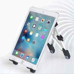 Tablet Mini Stand Adjustable Australia - Adjustable Tablet Holder Eye-Level Design Portable Laptop Stand Foldable Desktop Notebook Holder for ipad mini MacBook Pro