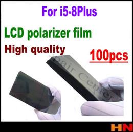 $enCountryForm.capitalKeyWord Australia - 100pcs high quality for iPhone 5 5s 5c se 6 6s 7g i8 plus LCD Polarizer Polarizer Film Polarization Light Film wholesale