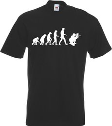 China Evolution of Paintball Skirmish Man Funny T-Shirt TShirt NEW All Szs Clrs cheap new paintball suppliers