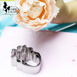 Peony Cutters Australia - DIY Sugar stainless steel peony shear modulus d'Angleterre sugar flowers cutter cake mould