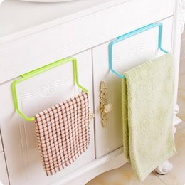 $enCountryForm.capitalKeyWord Canada - New Creative Cabinet Door Back Hook Towel Rack Bar Hanging Holder Organizer Bathroom Kitchen Cabinet Cupboard Hanger Shelf