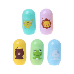 China 1 Set Baby Nail Clipper Cute Cartoon Storage Trimmer Children Finger Health Care-M20 supplier nail care wholesalers suppliers