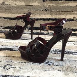 orange slingback shoes 2019 - Newest 2018 luxury brand design Leather Women Stud Sandals Slingback Pumps Ladies Sexy High Heels 12.5cm Fashion rivets