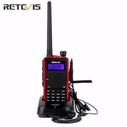 Transceiver 3km NZ - Retevis RT5 Walkie Talkie Transceiver 1800mAh 128CH Dual Band VHF UHF136-174 400-520MHz Scan VOX Portable Radio SetA9108