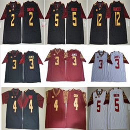 Mens NCAA FSU Stitch Derwin James Deion Sanders Dalvin Cook Jameis Winston  Deondre Francois Florida State Seminoles College Football Jersey discount  florida ... 5ed23f420