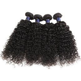 $enCountryForm.capitalKeyWord Australia - 3 4 Bundles Brazilian Jerry Curly Human Hair Weaves Natural Black 12-26 Inch Remy Hair Wefts Extension Wholesale