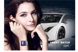 $enCountryForm.capitalKeyWord Canada - Bluetooth Smart Watches DZ09 Smartwatch For Android Apple Phone Clock Support Facebook Whatsapp SD SIM With Camera
