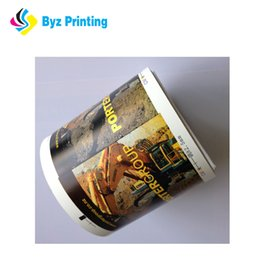 Roll labels pRices online shopping - 2019 Waterproof top quality low price strong adhesive printing cosmetic vinyl label sticker roll