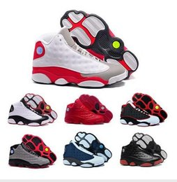 Hologram Shoes NZ - Cheap High quality 13s XIII man basketball Shoes hologram barons Bred He Got Game flints grey toe sport sneakers