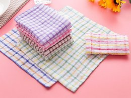 $enCountryForm.capitalKeyWord NZ - New Kitchen Dish Towels Cotton Soft Microfibre Double-sided Absorbent Non-stick oil Wash Bowl Towels Kitchen Cleaning Cloth 28*40cm Towel