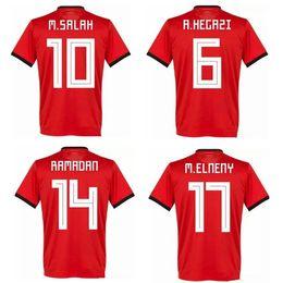2018 Egypt M SALAH 10 HOME AWAY thailand quality soccer jersey football  shirt kit camiseta futbol maillot de foot 7766264ed