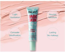 antibacterial cream NZ - Professional base Cream face primer Matte Smooth Full Cover Concealer Whitening Cosmetic Face Makeup Moisturizer Foundation gel BB cream