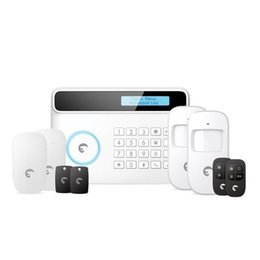 network security alarms UK - Origin Etiger GSM Wireless Security Alarm System Quad-band Support SIM GSM Network(Color White)
