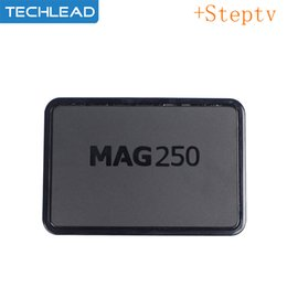 Indian Iptv Boxes NZ - MAG250 Arabic IPTV Box With French Belgium Channels Spanish Portugal Dutch Subscription France Germany EXYU Indian TV M3u Steptv 1 Year