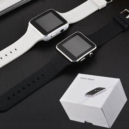 Sim Card Smart Watch Sony Australia - Curved Screen X6 Smartwatch Smart Watch Bracelet Phone With SIM TF Card Slot With Camera For LG Samsung Sony All Android Mobile Phone