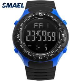 Men S Big Watch Australia - Fashion Brand Army Sport Watch Men 5bar Waterproof Smael S Resist Cool Big Watches 1342 Led Digital Wrsitwatches
