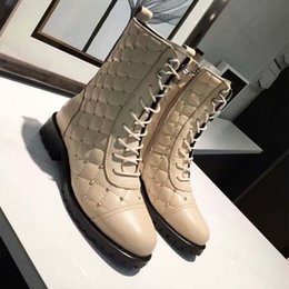 f8072dc49 Brand Fashion Autumn Winter Short Boots Ladies Shoes Plus Size 34-40 Ms  Martin Boots Side Zipper Female Ankle Boots