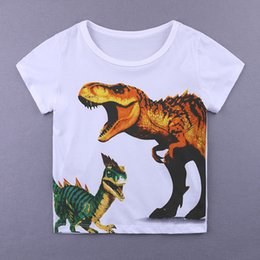 Chinese  New fashion 2018 children t shirts cool cartoon Print Kids Baby Boy Tops Short Sleeve T-Shirt Summer Tee boy clothing manufacturers