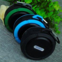 Vente en gros C6 bluetooth haut-parleur mini portable en plein air temps de lecture audio long intégré ordinateur amovible grande voiture ventouse Bluetooth ordinateur stéréo