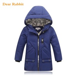 5c91584c342 2018 new children Down   Parkas 2-10T winter kids outerwear casual hooded  jacket for boys warm coats baby clothes clothing parka Y18102608