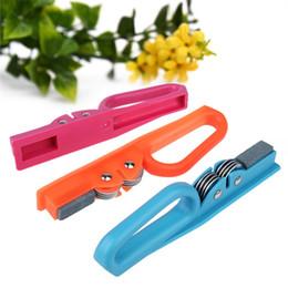 Knife Slicker For Kitchen Multipurpose New Multifunction ECO Friendly Sharpening Rod Knives Stone Sharpeners Hot Sale 3 1sc V on Sale