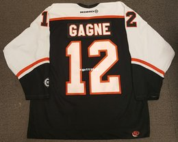 6924ec6d3 Wholesale Custom Simon Gagne Vintage Philadelphia Flyers Koho Cheap Hockey  Jersey Black Mens Retro Jerseys