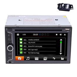 """$enCountryForm.capitalKeyWord Canada - 6.2""""Double DIN Car Radio In Dash Bluetooth Car DVD Player Stereo Mp3 1080P Video Player SWC AM FM Radio AUX-in+Rearview Camera"""