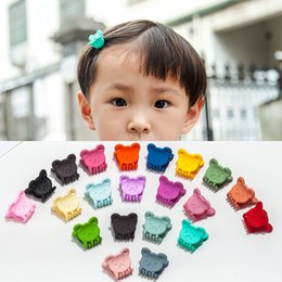 $enCountryForm.capitalKeyWord Canada - Cute Cartoon Bear Rabbit Hair Clips Colorful Resin Children Barrettes 2018 Fashion Jewelry Plastic Animals Hairpins Wholesale Free Shipping