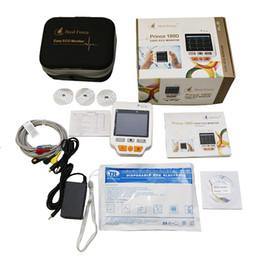 Toptan satış Güncellenmiş İyileştirme Kuvveti Prens 180D Gelişmiş Ölçüm Teknolojisine Sahip Kolay Elde Taşınabilir EKG Monitörü