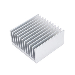Heat sink cooling fans online shopping - Cooling Accessories Heat Sink X40X20mm IC HeatSink Metal Aluminum Cooling Fin Fan Silver Color Support