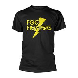 064be7c9fcbe65 Foo Fighters Yellow Logo Dave Grohl Rock offiziell Männer T-Shirt Herren