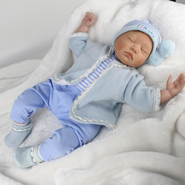 Npk silicoNe dolls online shopping - NPK Brand Doll Reborn quot Silicone Reborn Baby Doll Toys for Children Play House Toys Bebe Gift bBoneca Reborn