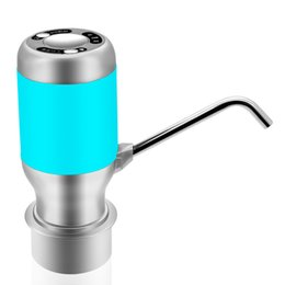 Pumps For Pumping Water NZ - Wireless Electric Pump For Water Bottle Automatic Drinking Water Dispenser With Usb Rechargeable Smart Water Pump