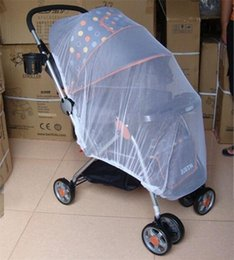 infant stroller cover 2019 - Baby Stroller Mosquito Net Buggy Pram Protector Pushchair Fly Midge Insect Bug Covers Safe Infants Protection Mesh cheap