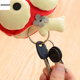 Discount japan presents New Trendy Big Eye Key Ring Key Bag Car Holder Handbag Birthday Present 1x