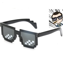 d32a2ead6b95 Outdoor Eyewear Thug Life Glasses 8 Bit Pixel Deal With IT Sunglasses  Unisex Sunglasses 14cm about Hot