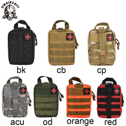 Utility tactical waist pack poUch online shopping - SINAIRSOFT Outdoor Tactical Medical First Aid Kit IFAK Utility Pouch Emergency Bag For Vest Belt Treatment Waist Pack EMT Multifunctional