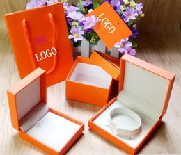 Bracelet Famous Brands NZ - Fashion Branded famous brand H bracelet and necklace box set original Brand bags jewelry gift box