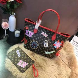 DistresseD cotton online shopping - Hot Sale High Quality Women handbags ladies designer handbag lady clutch purse retro shoulder bag Brand Shopping bags Messenger Bag M43988