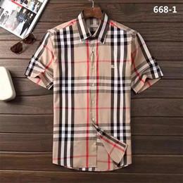 2018 marca dos homens de negócios casuais camisa dos homens, camisa listrada de manga comprida, Associação de Moda dos homens novos, polo camisa AS8 venda por atacado